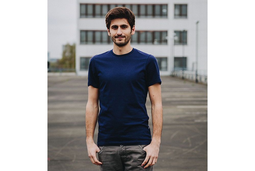 Ahrberg Shirt CO in Navyblau